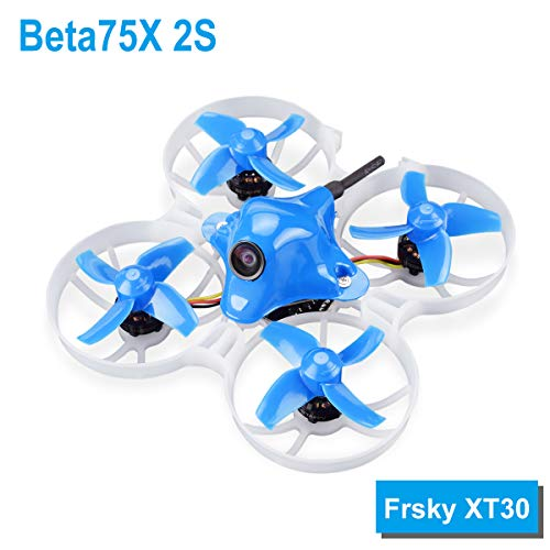 BETAFPV Beta75X 2S Brushless Whoop Drone with 2S F4 FC Frsky Z02 Camera OSD Smart Audio 11000KV 1103 Motor XT30 Cable for Tiny Whoop FPV Racing