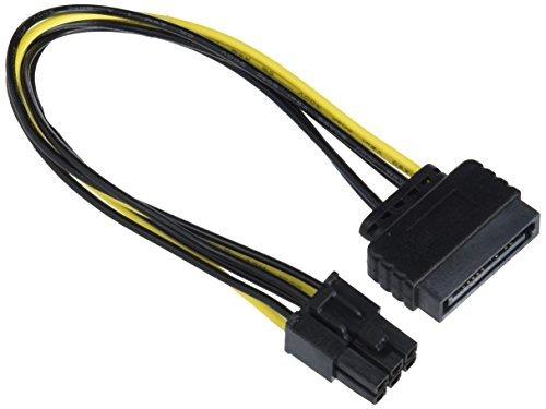 DeLock PCI Express SATA-Kabel (15-polig auf 6-polig, 21 cm)