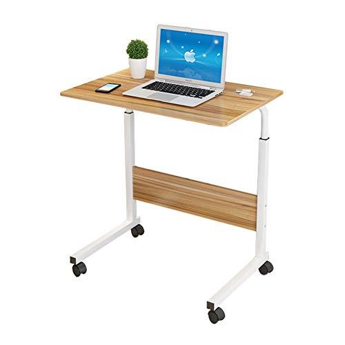 Hyxl tavolino servitore per pazienti allettati carrello,tavolino da salotto,scrivania per laptop rolling supporto per computer notebook, comodino lazy computer scrivania desktop per l'allattamento -c