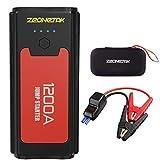 Zeonetak Avviatore di Emergenza 10400 mAh, 1200A Avviatore Batteria Auto per Motore Diesel Fino a...