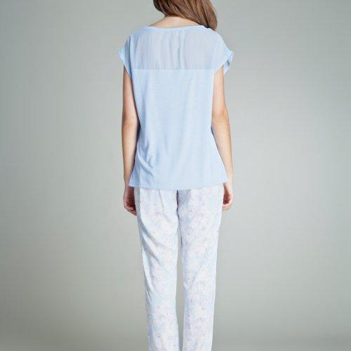 women'secret - Pijama largo estampado de flores Azur