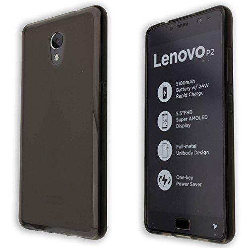 caseroxx Bundle Set für das Lenovo P2 aus TPU, bestehend aus Displayschutzfolie...