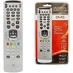 Yantai - Mando a Distancia Universal para Reproductor de DVD, grabadora de DVD y Home Cinema Blue-Ray DVD Sony Panasonic LG Sharp Samsung Grundig Toshiba Pioneer Yamaha Philips
