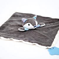 Nuby Little Fox Cuddle Buddy, Baby Comforter Security Blanket