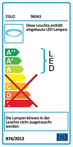 Eglo–LED-Licht-M/2-Flammen Nickel Satin 'metrass 2' 2x 5Watt A + - 4