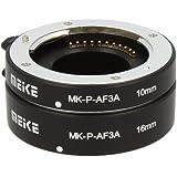 """Automatik Zwischenringe """"2-teilig 10mm & 16mm"""" für Makrofotographie passend zu Panasonic DSLR (Micro Four Third) **METALL KONTAKT**"""