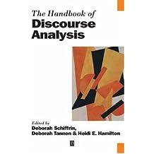 [(The Handbook of Discourse Analysis)] [Author: Deborah Schiffrin] published on (July, 2003)
