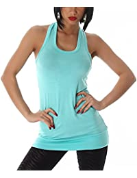 Shirt Top Feinripp-Optik T-Shirt Spitze Stickerei Größe 30 32 34 türkis grün