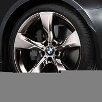 Original BMW aluminio Llanta X4 F26 Estrella radios 311 Cromado en 20 pulgadas ...