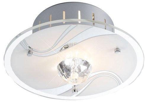 Deckenlampe Wohnzimmerleuchte Spiegel Glas Lampe Deckenleuchte Esto Diamantis 40105 -