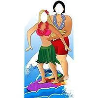 Star Cutouts Ltd - Cartonato, motivo: coppia di surfisti