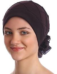 Elegante Hüt Mit Diamant-Muster für Haarverlust, Krebs