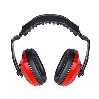 AOSOME Ohrenschützer, Verstellbarer Gehörschutz, Sicherheits-Ohrenschützer, Kopfband, Komfort Ohrenschützer