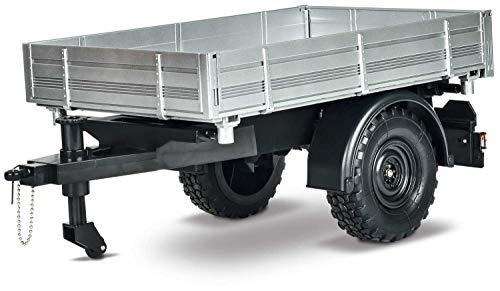 Carson 500907319 500907319-1:12 Anhänger U300, RC Unimog, Zubehör, Modellbau, Silber
