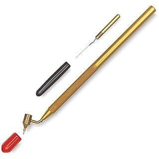 Loew Cornell ✅ Profi Lackstift für Autolack | Lackreparatur | Lacktupfer | Steinschlag Reparieren | Kemper Fluid Writer Pen Fine Line Painting Pen | Malhörnchen