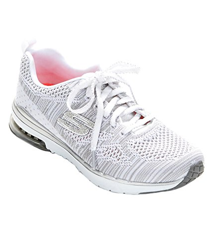 Skechers (SKEES) Damen Skech-Air Infinity-Stand Out Funktionsschuh Weiß (Wsl)