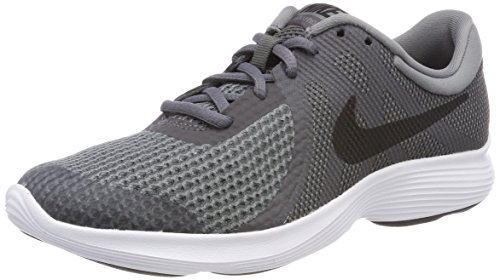 Nike Unisex-Kinder Revolution 4 (GS) Laufschuhe, Grau (Dark Grey/Black/Cool Grey/White 005), 39 EU