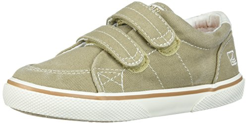 Sperry Kids HALYARD H&L CB46865 Unisex-Kinder Sneaker, Blau (KHAKI), 21.5 - Jungen Sperries