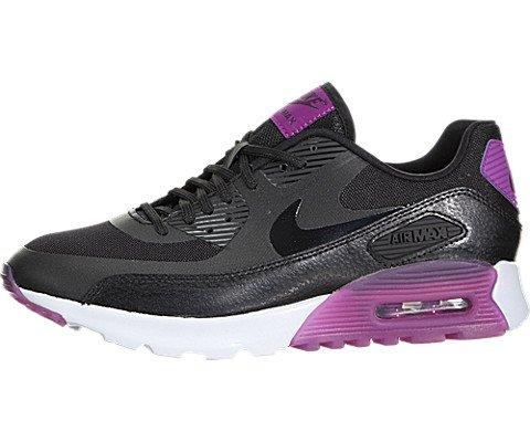 Nike Air MAX 90 Ultra Essential Women Schuhe Black-Black-Purple Dusk-Mulberry - 38