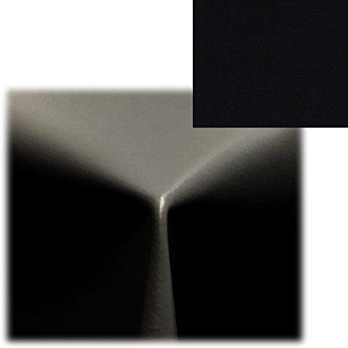 Wachstischdecke Wachstuchtischdecke von JEMIDI Tischdecke Wachstuch Tischdecken Decke Tisch Wachs Wachsdecke Schwarz 140cm x 220cm (Tisch Schwarze Runde Decken)