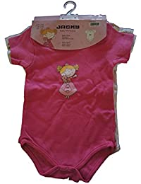 """Jacky Baby - Mädchen Body kurzarm 3er-Pack """"Princess"""" 152572"""