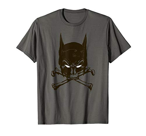 Batman Bat and Bones T Shirt -