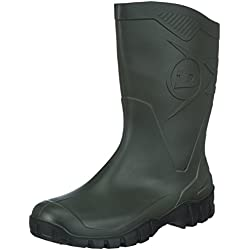 Dunlop Dee, Botas de Caucho Unisex, Verde (Green 211), 42