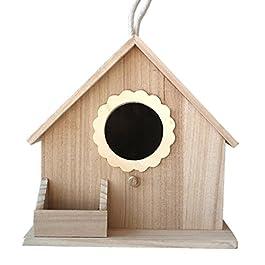 Nido Sun Flower Bird Nest Parrot allevamento box Garden Outdoor Bird House decorazione Paulownia casetta per uccelli