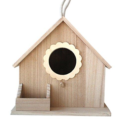 Nido-Sun-Flower-Bird-Nest-Parrot-allevamento-box-Garden-Outdoor-Bird-House-decorazione-Paulownia-casetta-per-uccelli