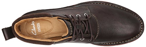 Clarks Varick Colline Chukka Boot Dark Brown