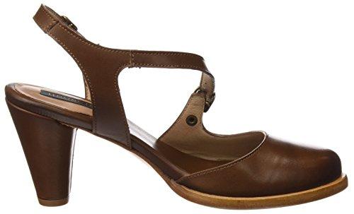 Neosens S992 Restored Skin Cuero Montua, Sandali Open Toe Donna Marrone (Cuero)