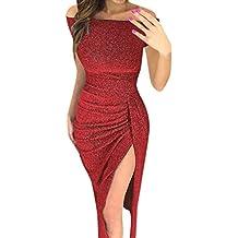 Vestidos Mujer Casual Vestido de Verano Largo, Maxi Vestido de Noche Maxi Playa Sundress,