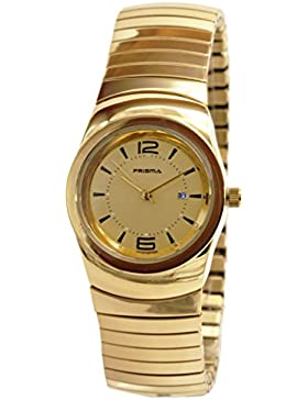 Prisma Damen-Armbanduhr Classic Edelstahl Analog mit Quarzwerk P.1289