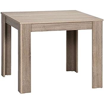 CAVADORE Tisch NICK / kleiner, praktischer Küchentisch 90 x 90 cm ...