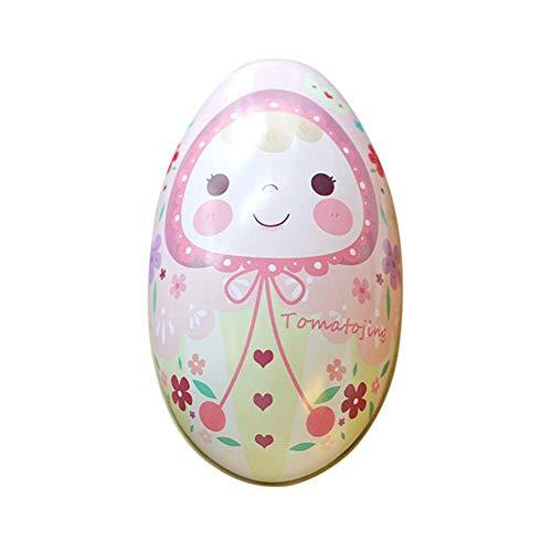 Delidraw Ostereier für Kinder, Eierschalen-Design, Weißblech, Geschenk-Box