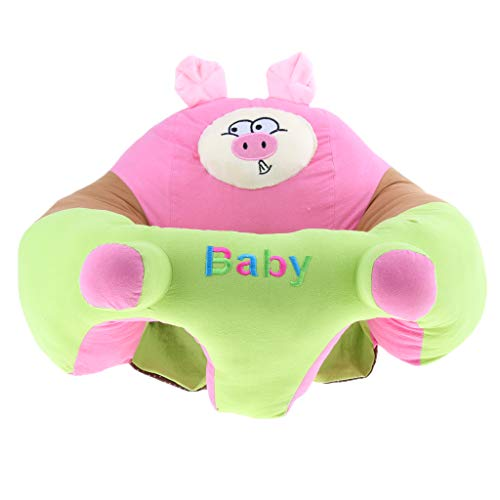 F Fityle Fauteuil Siège de Soutien de Chaise Haute pour Bébé Peluche - Porc