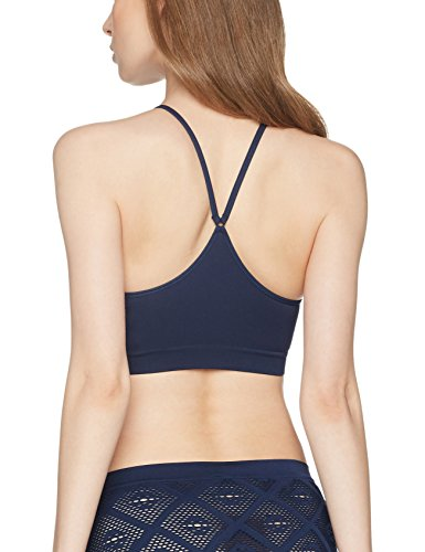 Iris & Lilly Bralette a Collo Alto Seamfree Donna Blu (Navy)