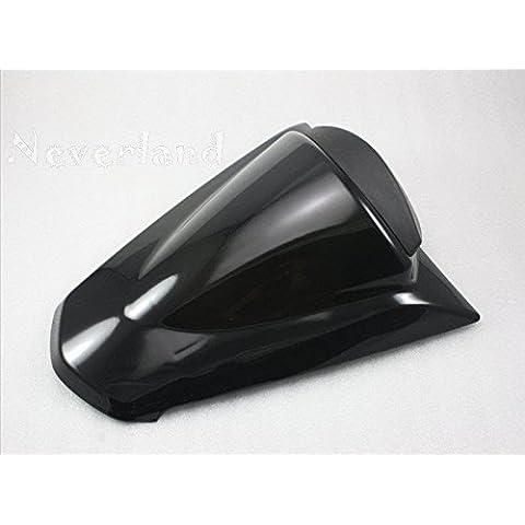 upetch (TM) nuovo Pillion sedile posteriore, per moto Kawasaki NINJA250R ZX250R EX250R 2008–2011Nero C40