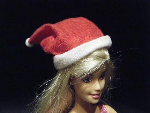 Barbie Sindy Puppe Weihnachtsmann Hut Groß Süß Rot Weihnachten