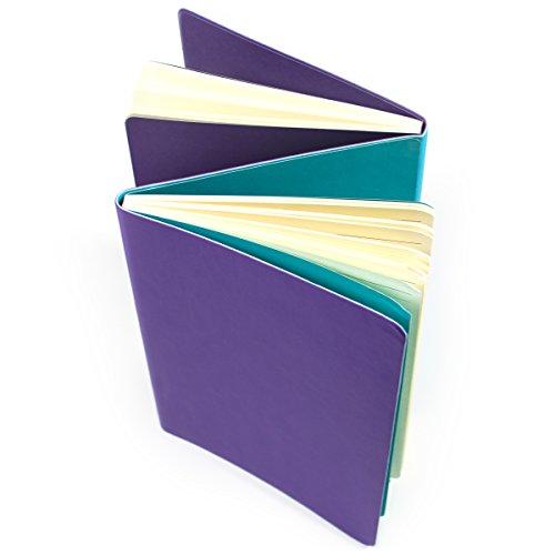 The Flipside Double Sided Notebook - Purple