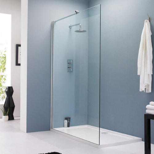 Vetro Wet Room 1400mm Glass Shower Screen