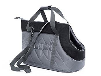 Karlie TOR gzc6HOBBYDOG de transport chat Sac de taille 22x 20x 36CM, gris/noir