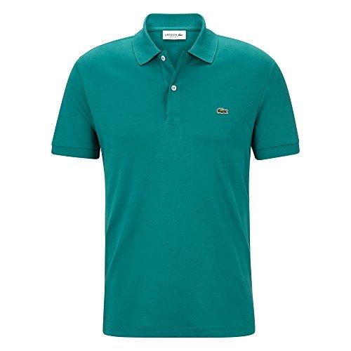 6103cfad5d Lacoste Regular Fit Polo à Manches Courtes pour Homme - Vert - Small