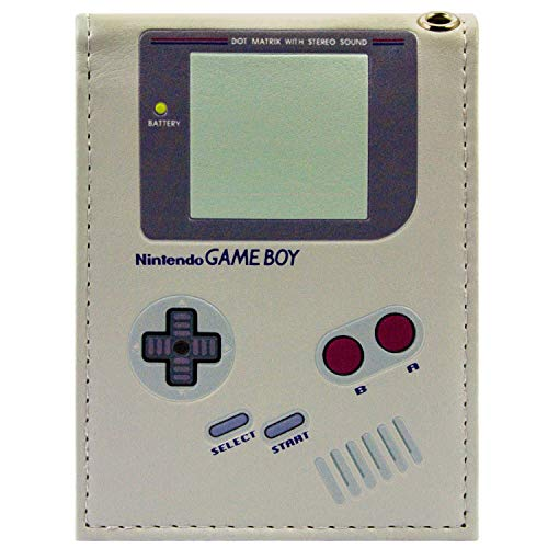 Nintendo Game Boy Original-Handheld Grau Portemonnaie - Game Boy Color Kostüm