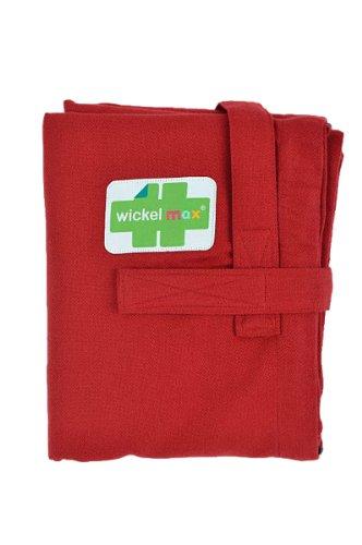 HOPPEDIZ Wickelmax - Dein Wickeltisch für unterwegs - Design Bordeaux