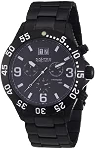 Nautec No Limit Herren-Armbanduhr Viperfish VF QZ-BD/IPIPBKBK-WH