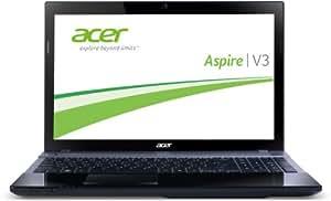 Acer Aspire V3-571G-53218G75Makk 39,6 cm (15,6 Zoll) Notebook (Intel Core i5 3210M, 2,5GHz, 8GB RAM, 750GB HDD, NVIDIA GT 640M, DVD, Win 8) schwarz