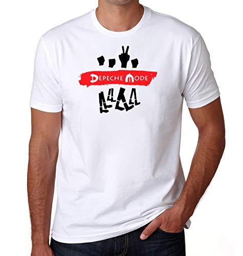 Arthy Colours Depeche Mode Camiseta para Hombres Small