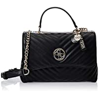 Guess Womens Handbag, Black - VG766318