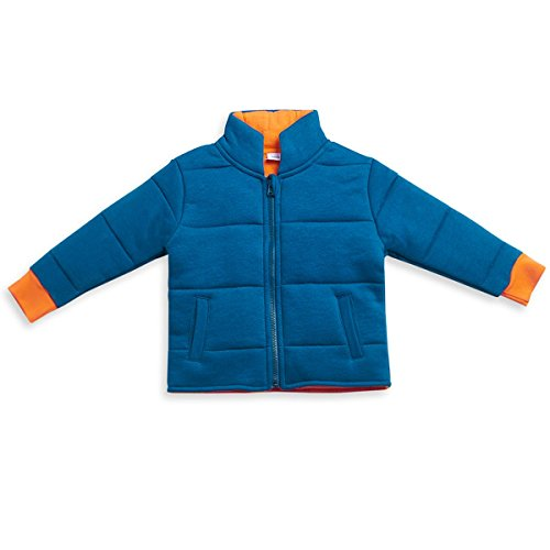 Mini Klub Boy's Jacket With Full Sleeves ( Blue_18-24 months)